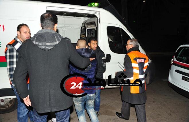 بالصور..ضحية ''الرصاصة الخطأ'' ينقل للمستشفى