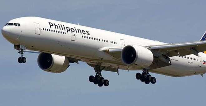 راكب واحد على متن طائرة فلبينية