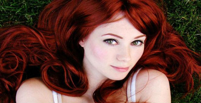 احصلي على الشعر الأحمر الغجري دون صبغة