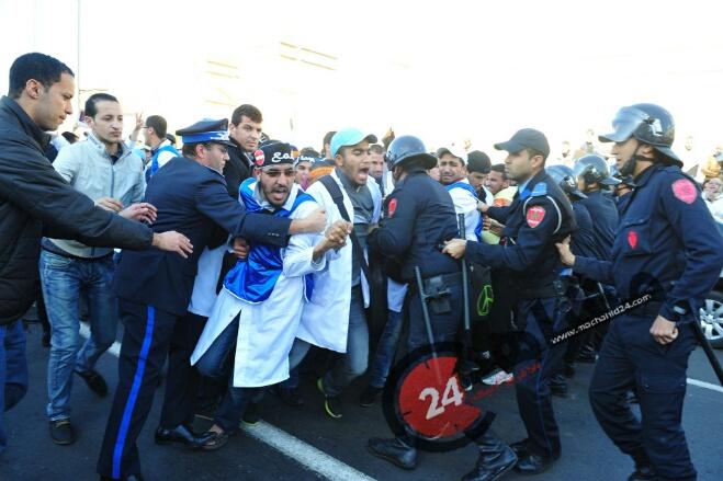 صدى تعنيف الأساتذة المتدربين يتجاوز حدود المغرب