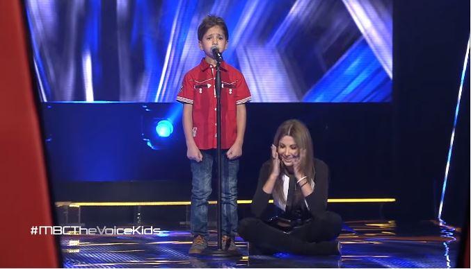 الطفل السوري المبهر الذي أجلس نانسي على الأرض