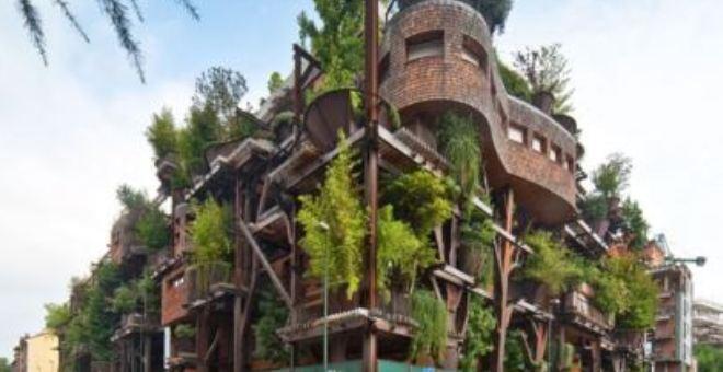 «الغابة العمودية» مجمع يحمي سكانه من التلوث والضوضاء