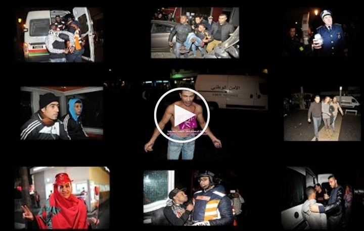 فيديو: هكذا كانت ليلة رأس السنة بالدار البيضاء