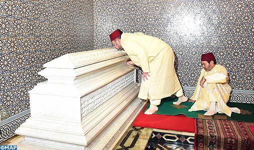 الملك محمد السادس يترأس الذكرى 17 لوفاة الراحل الحسن الثاني