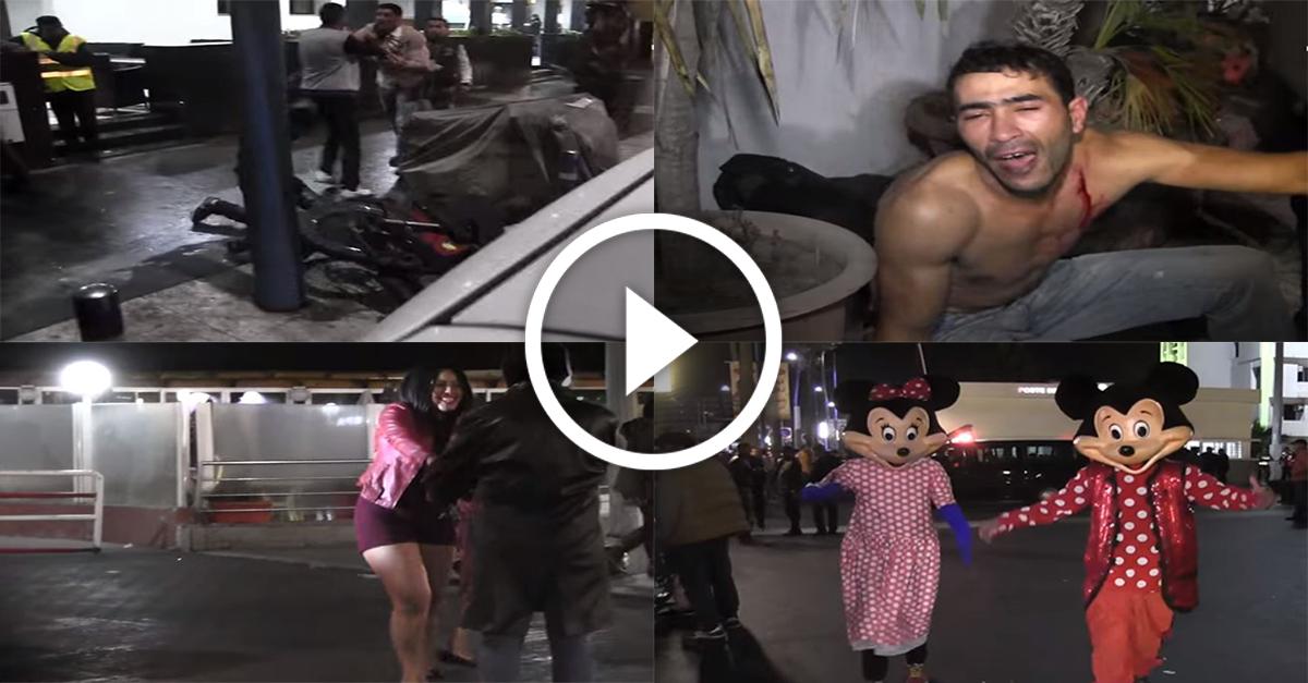 بالفيديو : هكذا ودّع أبناء الدار البيضاء سنة 2015
