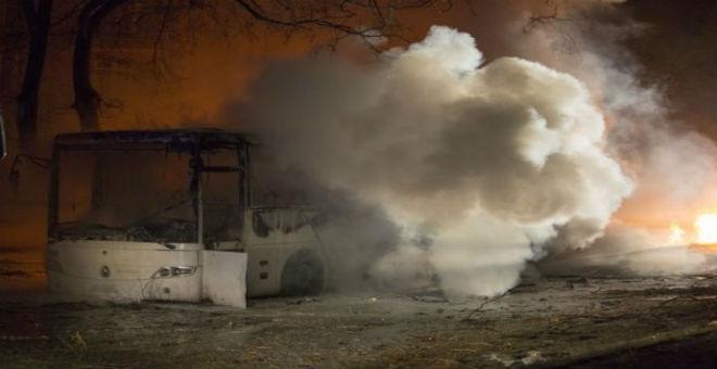 عشرات القتلى والجرحى في هجوم إرهابي بأنقرة