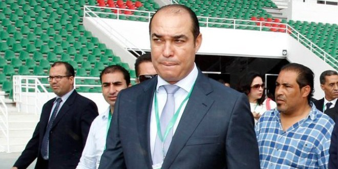 السيد محمد أوزين، وزير الشباب والرياضة الأسبق.