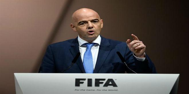 رئيس الفيفا يعلن بداية سباق  مونديال 2026