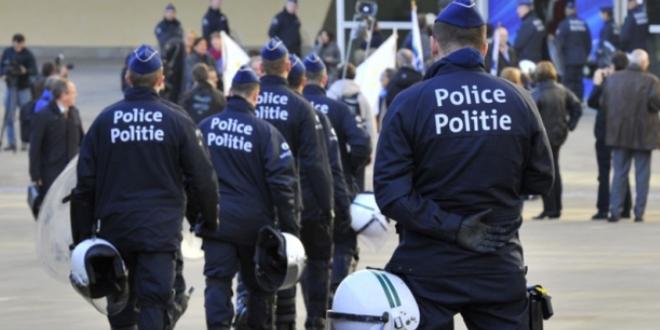 رجال الأمن البلجيكي