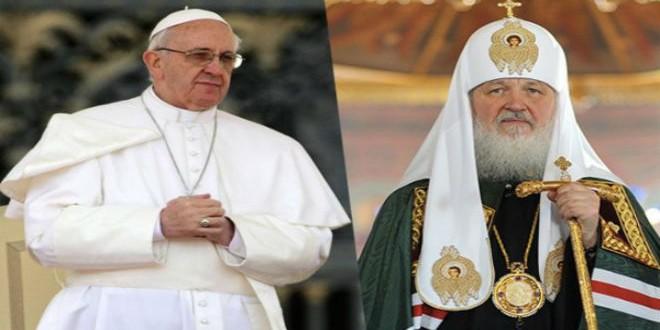 البابا فرانسيس والبطريرك كيريل