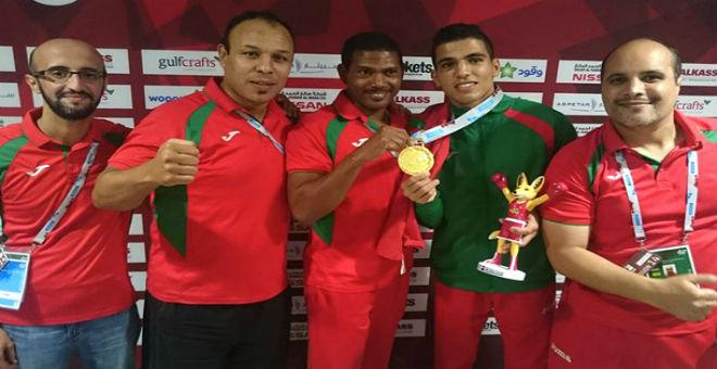 البربوشي يؤكد جاهزية الملاكمين المغاربة للفوز على البريطانيين
