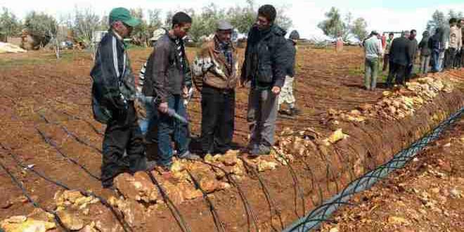 من معالم الجفاف في المغرب