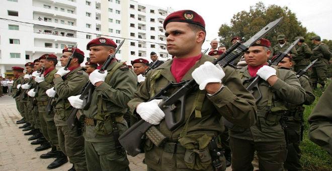 هل تقيم ألمانيا معسكرا لتدريب الجيش التونسي والليبي في تونس؟
