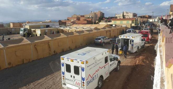 المستشفى المتنقل يقدم الخدمات الصحية والعلاجية لساكنة خنيفرة