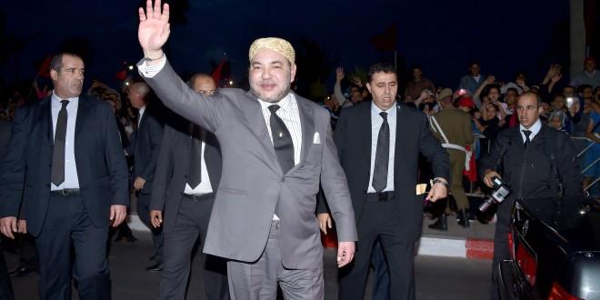 الملك محمد السادس في العيون