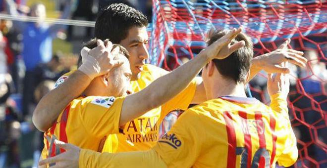 بالفيديو..برشلونة يفوز على ليفانتي بهدفين ويواصل الصدارة