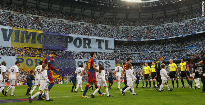 برشلونة يطالب بإقامة نهائي الكأس في معقل الريال