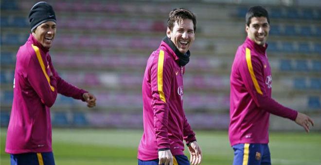 ثلاثي برشلونة الـmsn يسخرون من هزيمة ريال مدريد