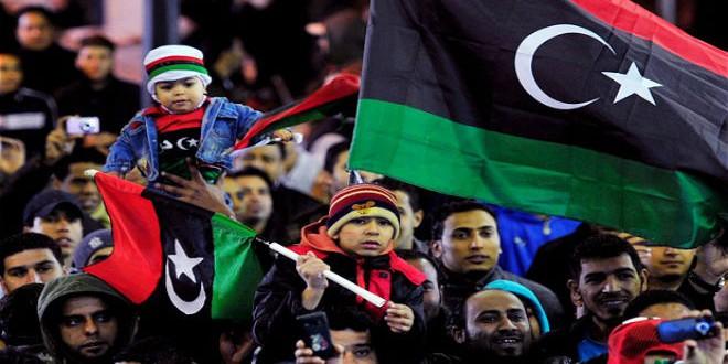 احتفالات الليبيين سابقا بنجاح ثورتهم