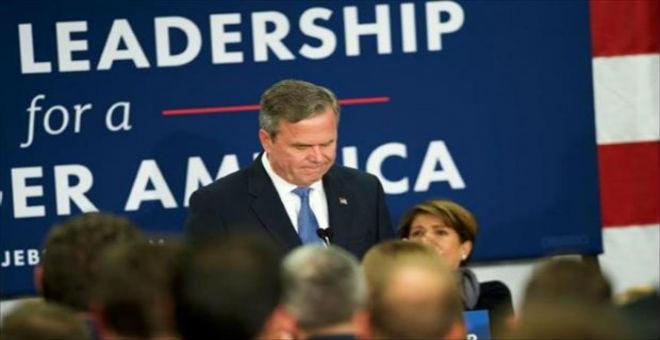 جيب بوش يتخلى عن السباق الانتخابي نحو البيت الأبيض