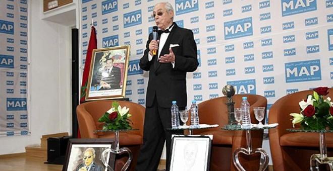 تكريم الشاعر والإعلامي  حميد مخلوف في وكالة الأنباء المغربية