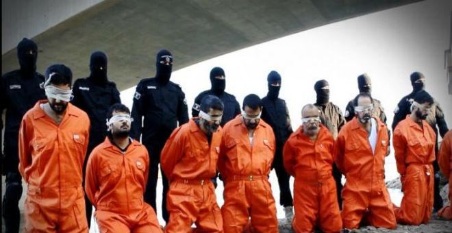 داعش إعدام شيعة