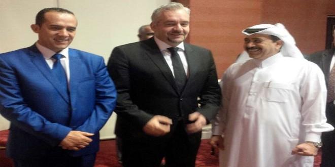 رئيس الإتحاد العربي وبسيباس
