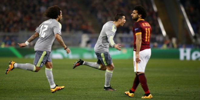 بالفيديو.. ريال مدريد يسحق روما بهدفين