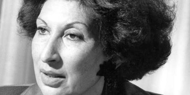 الكاتبة المغربية الراحلة فاطمة المرنيسي