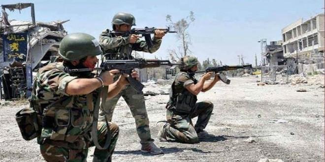 جنود في صفوف قوات النظام السوري