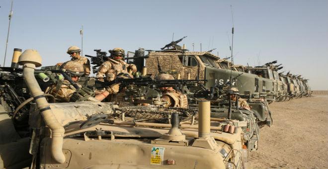 بريطانيا تنفي نيتها في إرسال قوات برية إلى ليبيا