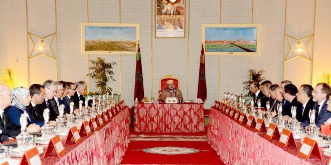 انعقاد المجلس الوزاري تحت رئاسة الملك محمد السادس في العيون