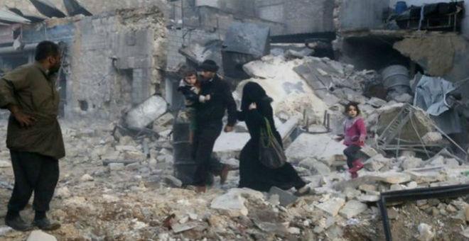 مقتل 500 شخص في حلب منذ بداية فبراير