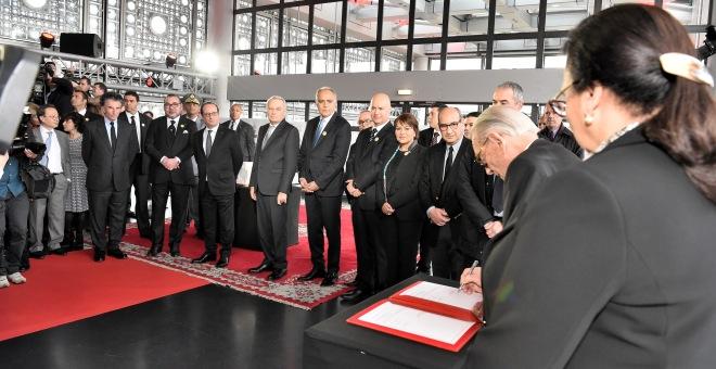هولاند : زيارة الملك تعكس عمق الروابط بين المغرب وفرنسا