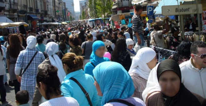الجالية المغربية في بلجيكا