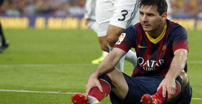 برشلونة يدعم ميسي في قضية