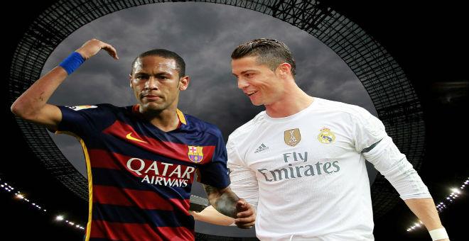 نيمار يدعو رونالدو للعب مع برشلونة مستقبلا !!!