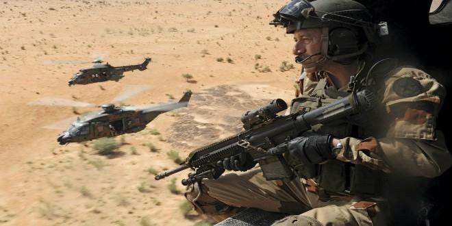 وحدات عسكرية فرنسية بمالي