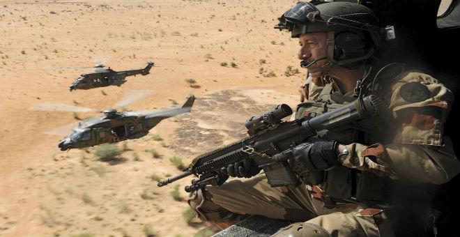 فرنسا تقوم بعمليات عسكرية سرية في ليبيا ضد