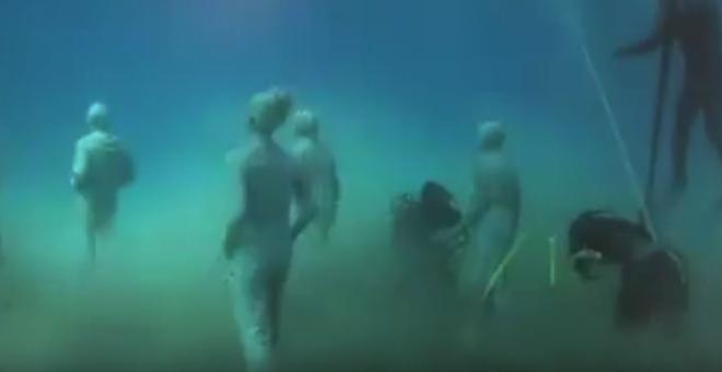 بالفيديو.. تجول تحت الماء مع أول متحف أوروبي بقاع البحر