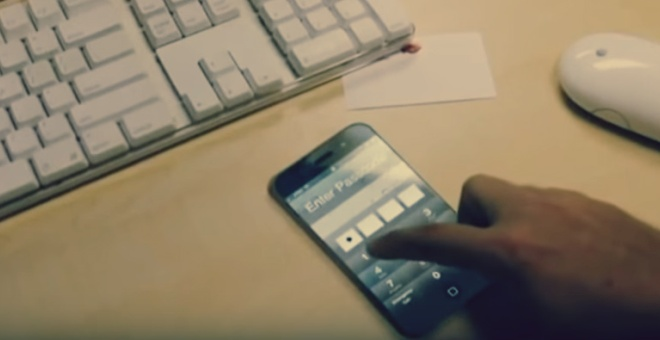 بالفيديو.. هاتف يفجر نفسه تلقائيًا حال سرقته