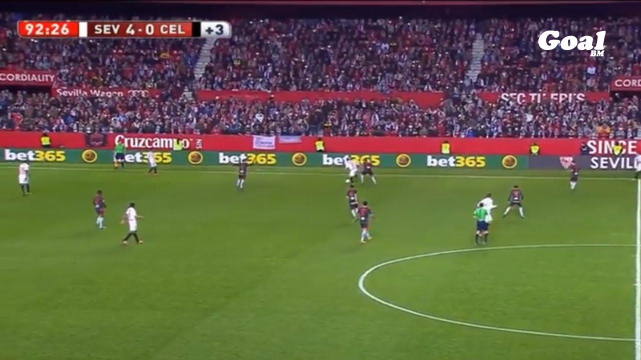 بالفيديو..أهداف رائعة من فريق إشبيلية