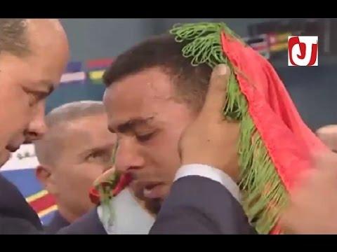 بالفيديو..المغربي حجامي يفوز بالضربة القاضية في التيكواندو