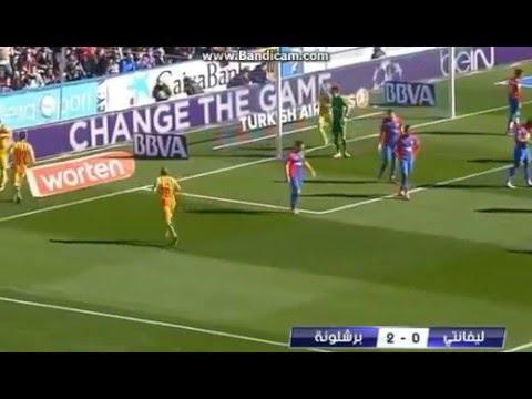 بالفيديو.. فوز برشلونة  على ليفانتي