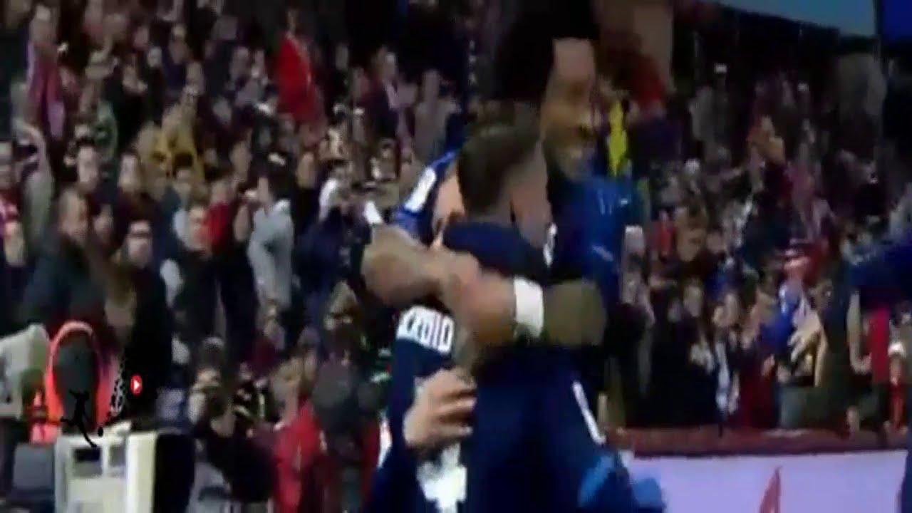 بالفيديو..أهداف مباراة الريال وغرناطة