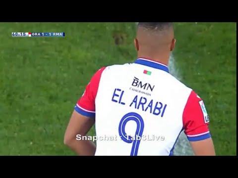 بالفيديو.. هدف رائع من العربي في مرمى الريال