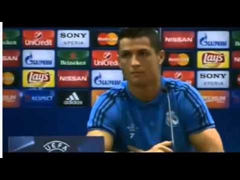 بالفيديو..زيدان يضحك على رونالدو بعد إنسحابه !