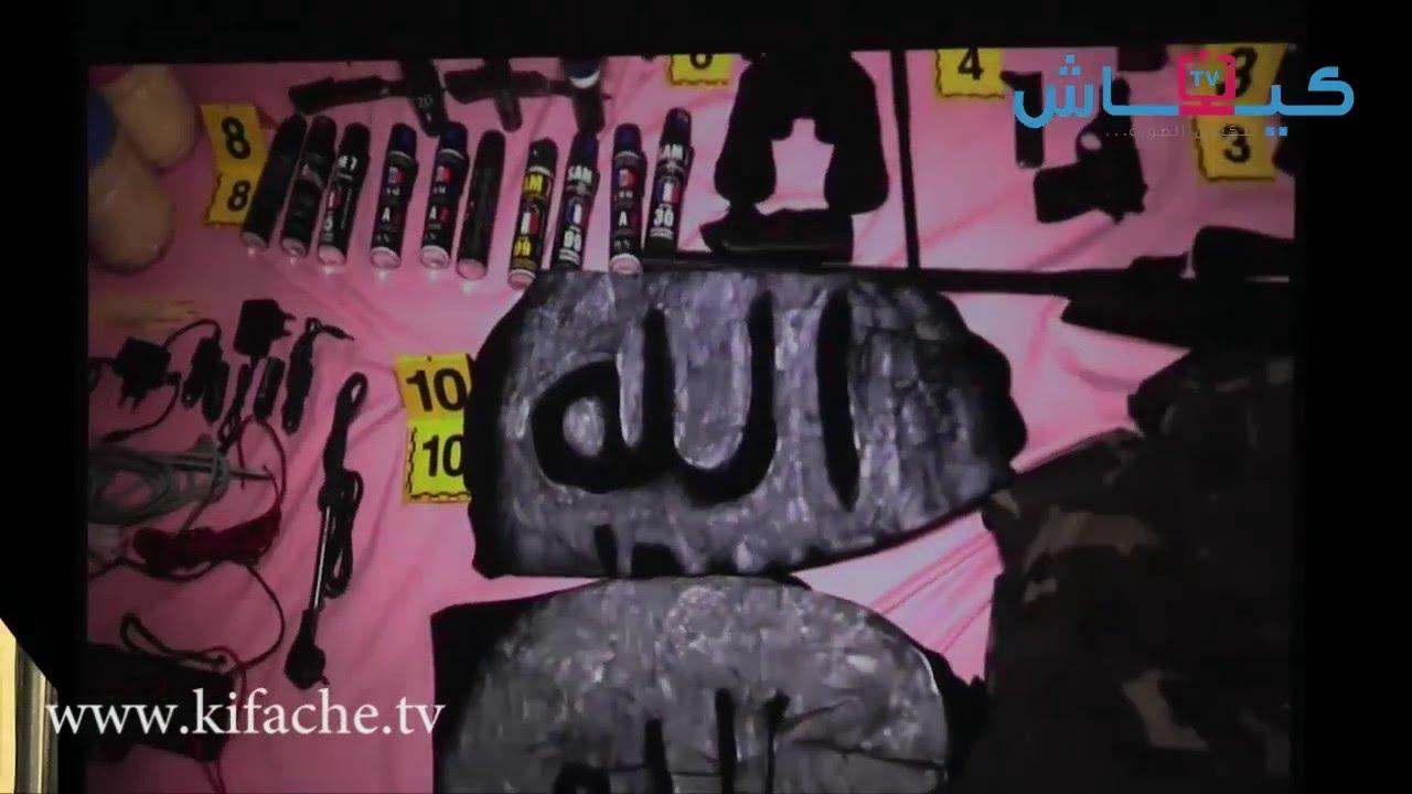 فيديو | لحظة اقتحام مخبأ زعيم الخلية التي كانت ستفجر المغرب