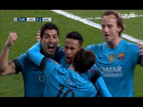 بالفيديو..فوز مثير لبرشلونة على الأرسنال