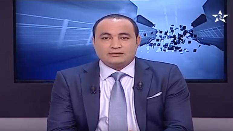 بالفيديو: مذيع في الرياضية يودع المشاهدين قبل نهاية النشرة
